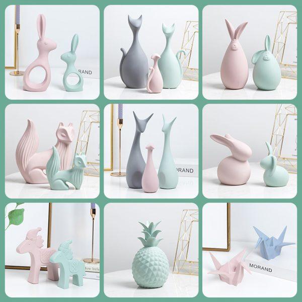 Cerbi, iepuri, pisicute decorative