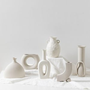 Vaze decorative din ceramica mata