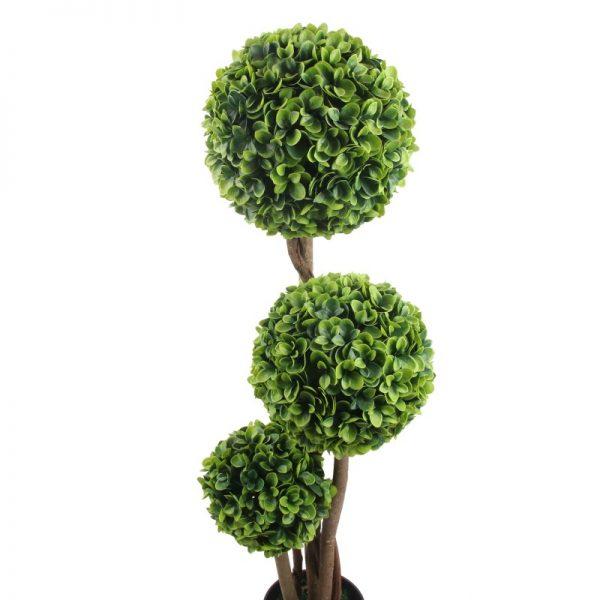 Arbust artificial realistic, cu tulpina din lemn