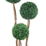 Buxus extrem de realistic in ghiveci. Buxus artificial