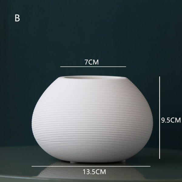 Vaza ceramica rotunda